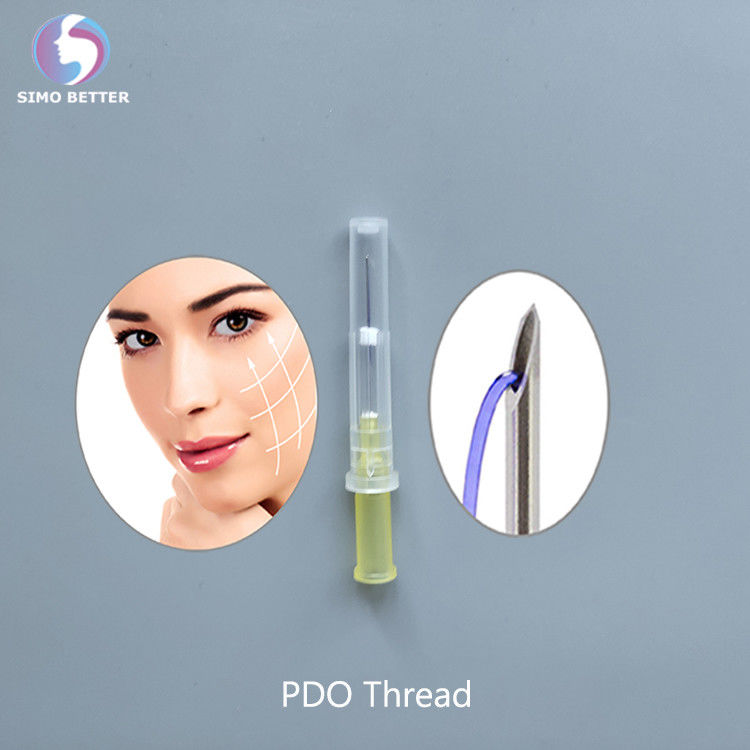 High quality cosmetic silk suture face lifting pdo thread lift korea