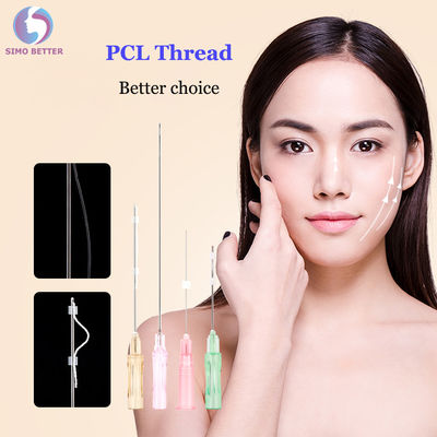 Sterile Needle Cosmetics Micro Cannulas Cog For Face Lift PCL 3d Meso Thread
