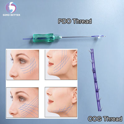 Anti Aging PDO 4D Face Threading Facelift Hilos Cog Lifting Hilos Korea