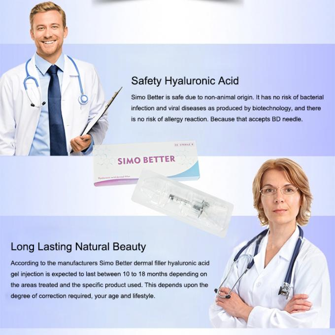 Non Allergic Anti Aging Breast Enlargement Injection For Medium Wrinkles
