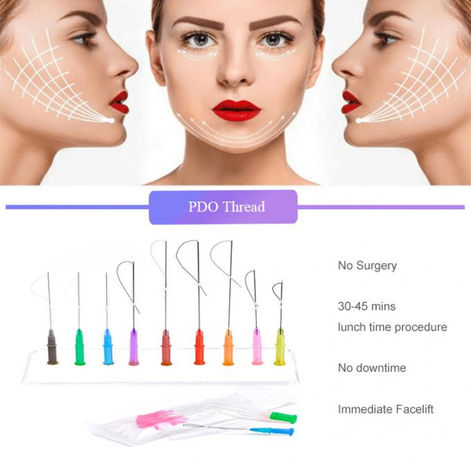 Non Surgical Skin Threading Face Lift Face Shaping