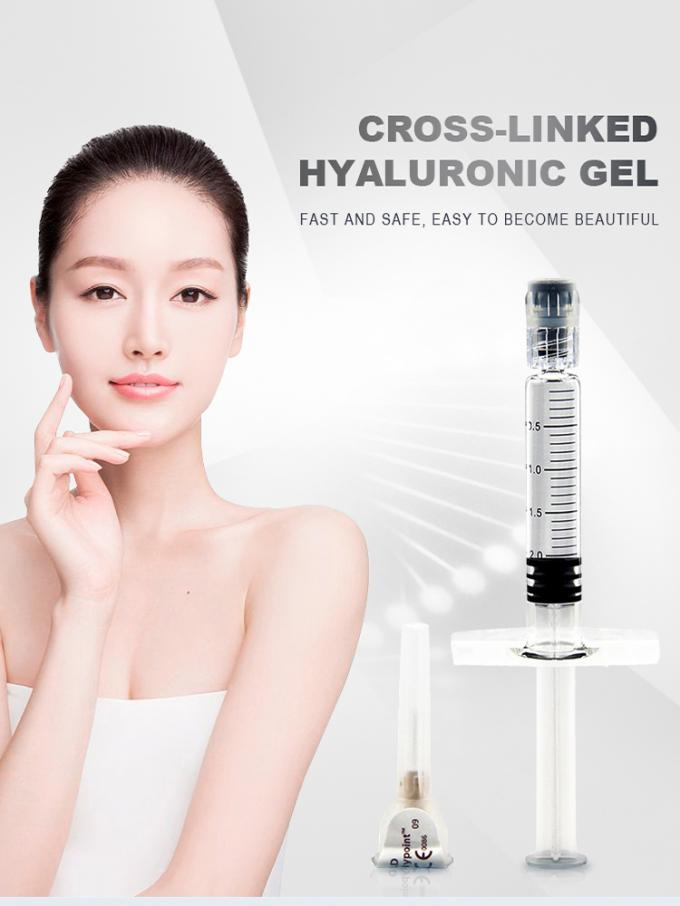 Korean Hyaluronic Acid Fillers 2ml Syringe Canula Of Penis Dermal  Fillers
