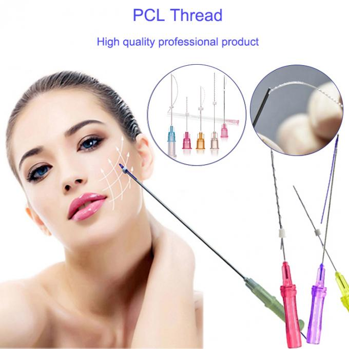 Professional Skin Rejuvenation PCL Thread Lift Anti - Wrinkle CE Approved